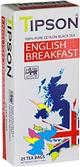 TIPSON English Breakfast nepřebal 25x2g