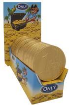 MAITRE TRUFFOUT - Velké zlaté čokoládové medaile - plakety 21,5g