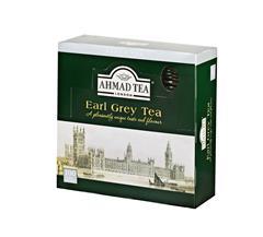 Ahmad Tea černý čaj Earl Grey 100x2g sáčků přebal ALU