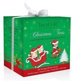 TEA OF LIFE - Vánoční čaje porcované - Zelený dáreček 4x25x2g