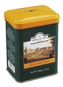 AHMAD TEA černý sypaný čaj Ceylon - plechovka 100g