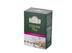 AHMAD TEA sypaný černý sypaný čaj Ceylon Long Leaf-papírová krabička 100g