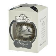 Ahmad Tea Magical Bauble – vánoční ozdoba se sypaným čajem Silver 30g