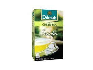 DILMAH Sencha japonský zelený čaj bez přísad 20x1,5g
