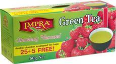 IMPRA - Jahoda zelený čaj 30x2g