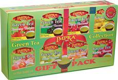 IMPRA dárkové balení zelených čajů 80x2g