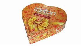 TARLTON Black Tea Srdce plech 150g