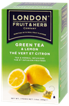 LONDON FRUIT & HERB Zelený čaj s citronem 20x2g