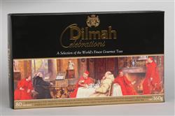 DILMAH Celebrations dárkové balení černých čajů 8x10x2g