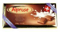 ALPROSE - 100g Švýcarská mléčná čokoláda