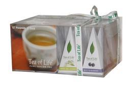 TEA OF LIFE - White Tea Collection - Bílé čaje 12x2g (Pyramidové sáčky)