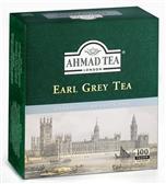 Ahmad Tea černý čaj Earl Grey 100x2g sáčků se šňůrkou