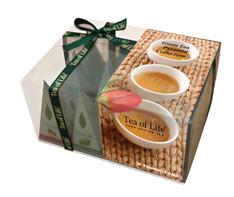 TEA OF LIFE - Green Tea Collection - Zelené čaje 12x2g (Pyramidové sáčky)