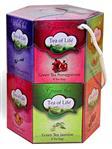 TEA OF LIFE - HEXAGONAL GIFT - Dárkové balení porcovaných čajů 12 x 8x 1,5g