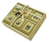 TEA OF LIFE - Dřevěná kazeta s bio čaji - Organic Tea Gift Tray 6 x 12x 2g