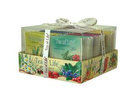 TEA OF LIFE - Fruit a herbal / ovocné a bylinné čaje/ 6x8x2g