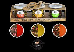 McCoy Teas TEA SPA COLLECTION dárkové balení zelených sypaných čajů 3x15g