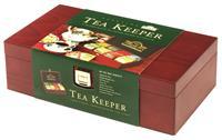 AHMAD TEA Tea Keeper - luxusní dřevěná kazeta 8x10x2g