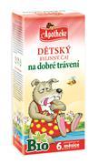 APOTHEKE Dětský čaj bio pro dobré trávení 20x1,5g