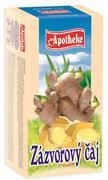APOTHEKE Zázvorový čaj 20x1,5g