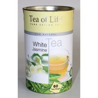 TEA OF LIFE 60x1,5g WHITE TEA JASMINE