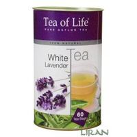 TEA OF LIFE 60x1,5g WHITE TEA LAVENDER