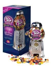 THE JELLY BEAN FACTORY - Jelly Bean Machine Gourmet Mix - automat a 600g bonbonů