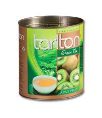 TARLTON - Papírová dóza - KIWI sypaný zelený čaj 100g