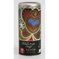 TEA OF LIFE POP ART 50x1,5g (kulaté sáčky) Green Tea Passion Fruit Ginger